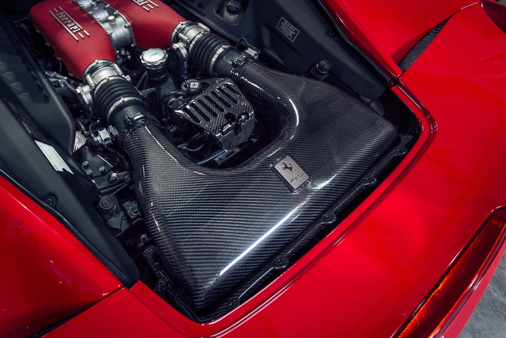 Agency Power Carbon Fiber Air Intake Box Ferrari 458 10-14
