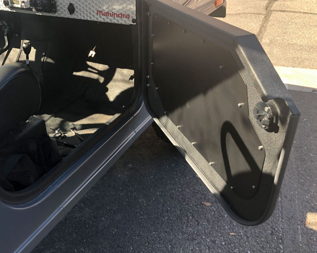 How To Install Agency Power Half Doors On A Mahindra Roxor