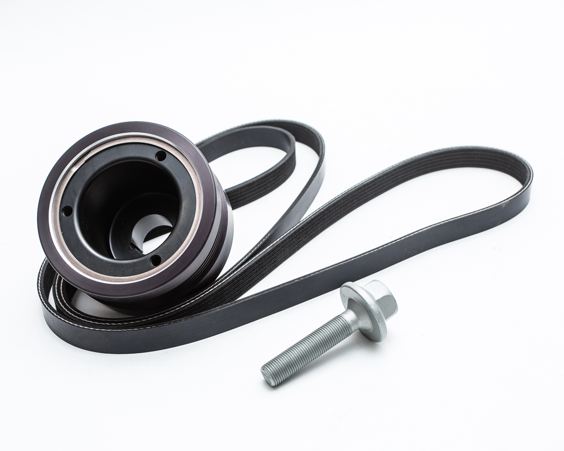 Agency Power Lightweight Crank Pulley Mercedes- Benz C63 AMG | E63 AMG M156 6.2L 08-14 - AP-C63-130