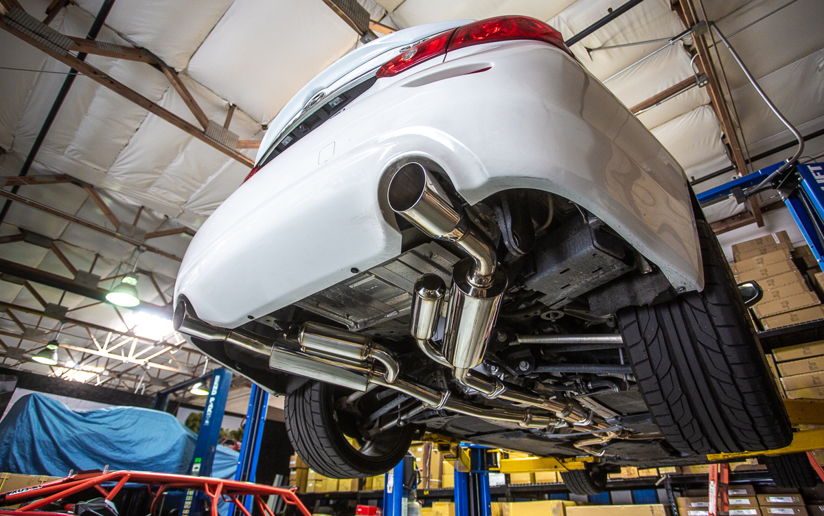 Agency Power Catback For Q50 3.0T 2016-2018 Infiniti 2.5in Exhaust AP-Q5030T-170