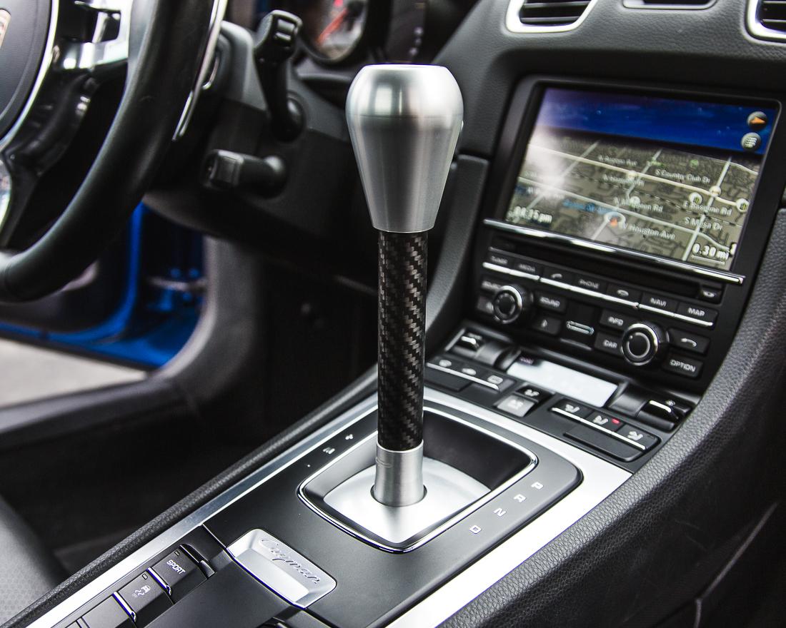 Agency Power Cup Shifter Porsche PDK Shift Knob Upgrade