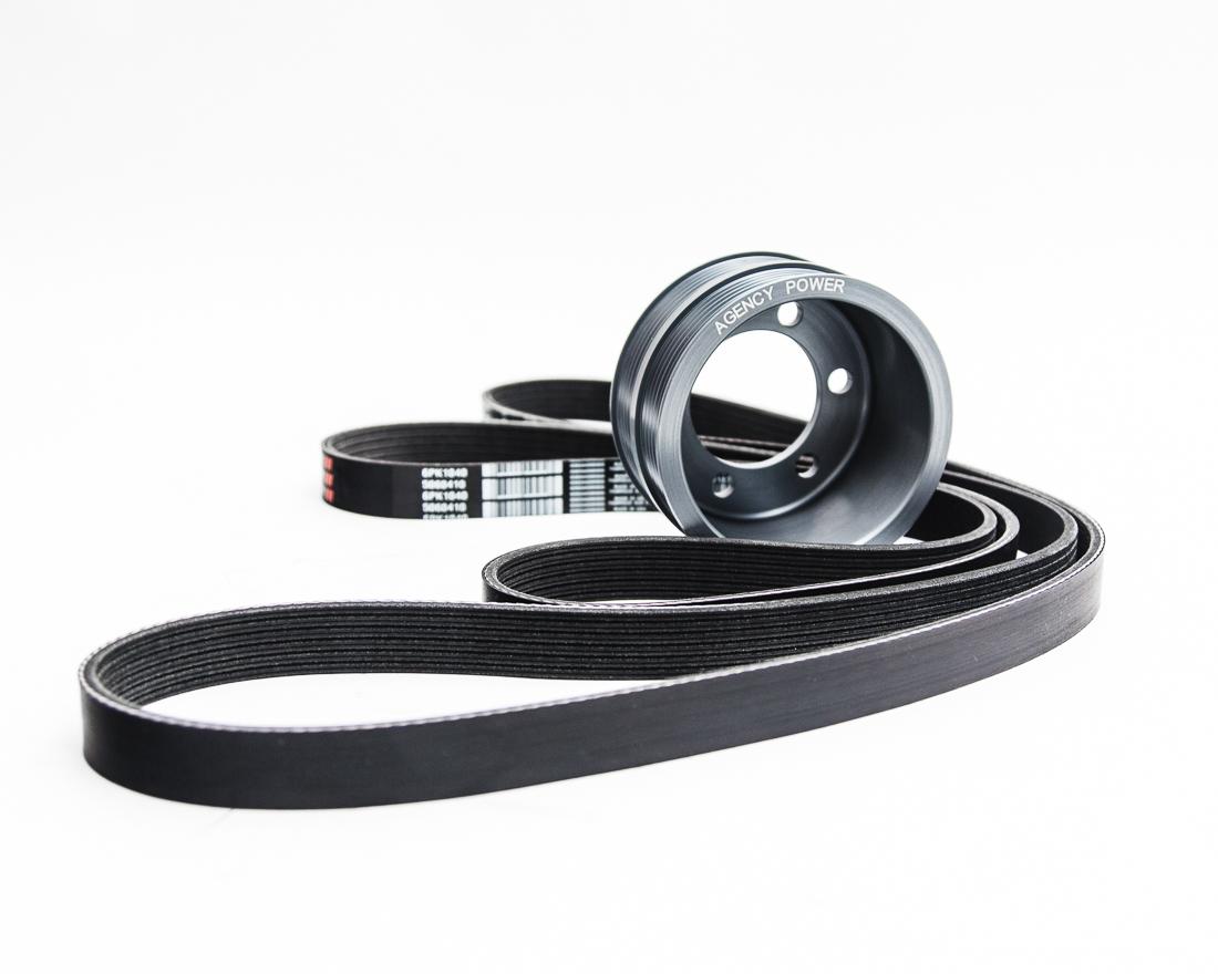 Agency Power Lightweight Crank Pulley BMW M5 E60 | M6 E63 V10 - AP-E60M5-130