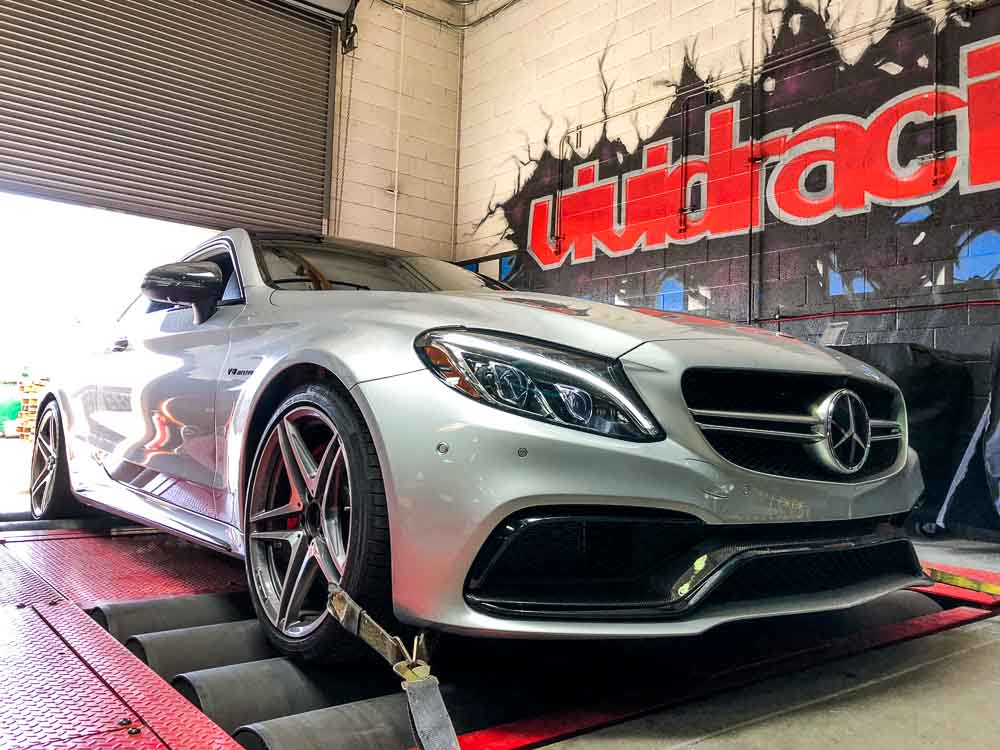 VR Tuned ECU Flash Tune Mercedes AMG C63 S 4 0L Bi-Turbo W205 510HP