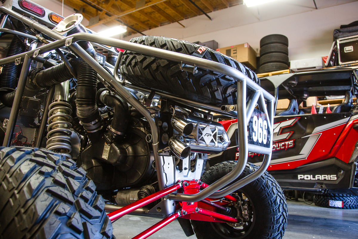 Agency Power Dual Tip Exhaust System Polaris RZR XP Turbo